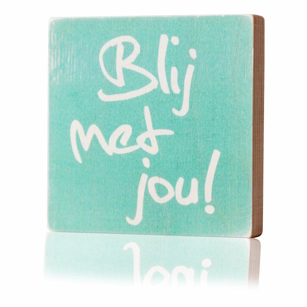 Houten-Quoteblok-Blijmetjou-mint