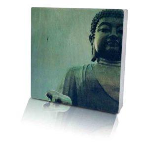 Houten-Quoteblok-Boeddha