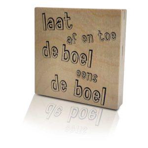Houten-Quoteblok-Boeldeboel