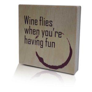 Houten-Quoteblok-Wineflies
