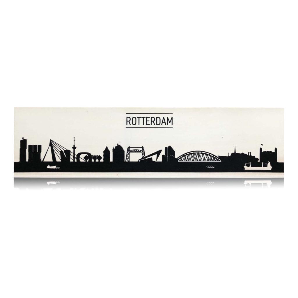 Rotterdam op populierenhout