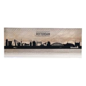 Rotterdam op steigerhout