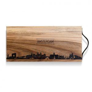 Borrelplank Skyline Amsterdam