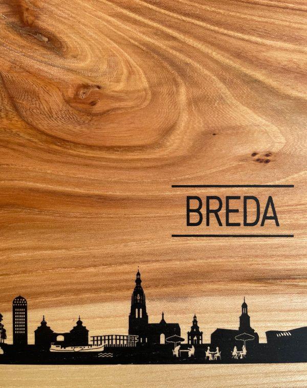 detail Skyline Breda Borrelplank
