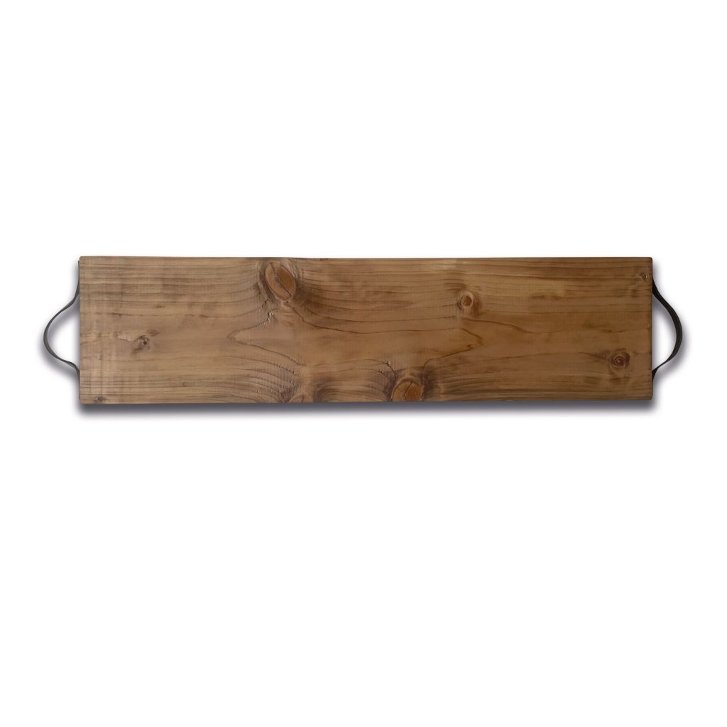 Steigerhouten borrelplank Extra groot XL 75 cm